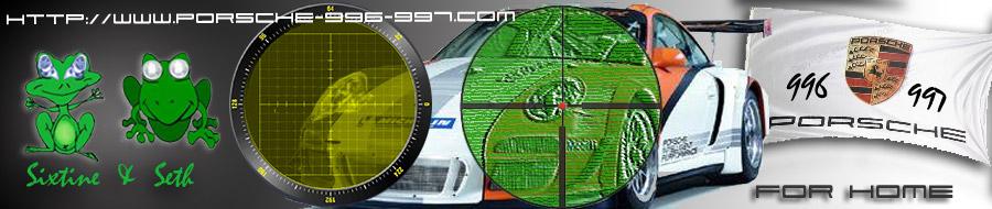 PORSCHE 996-997-991 Passion...aimant