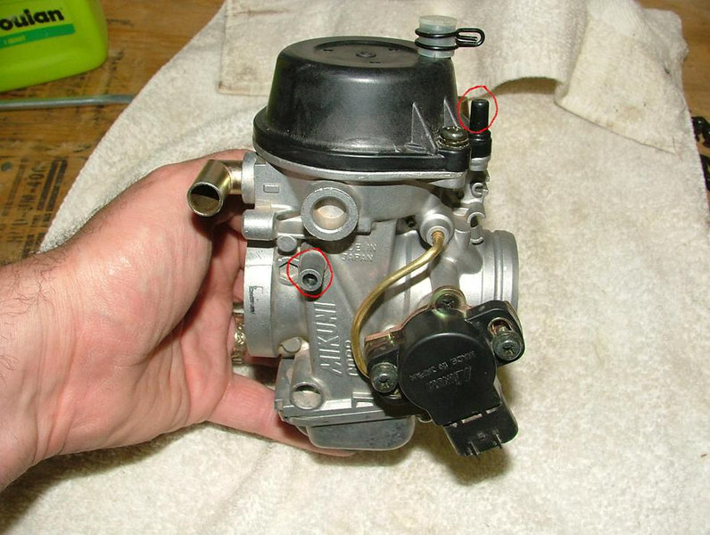 Suzuki Drse Carburetor