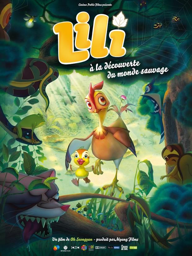 affiche française de Lili