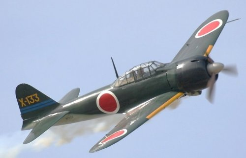 Mitsubishi zero yasukuni milguerres - Porte avion japonais seconde guerre mondiale ...
