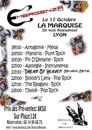 Emergenza @ Lyon