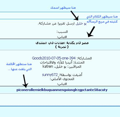 [ شرح التبليغ عن المخالفة ],أنيدرا