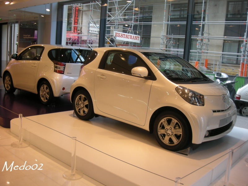 toyota iq topic officiel page 6 iq toyota. Black Bedroom Furniture Sets. Home Design Ideas
