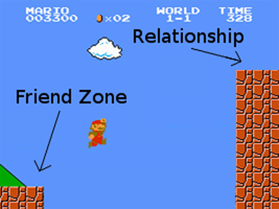 friendship zone mario