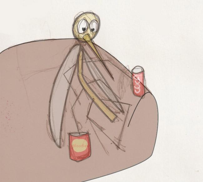 moustique divan