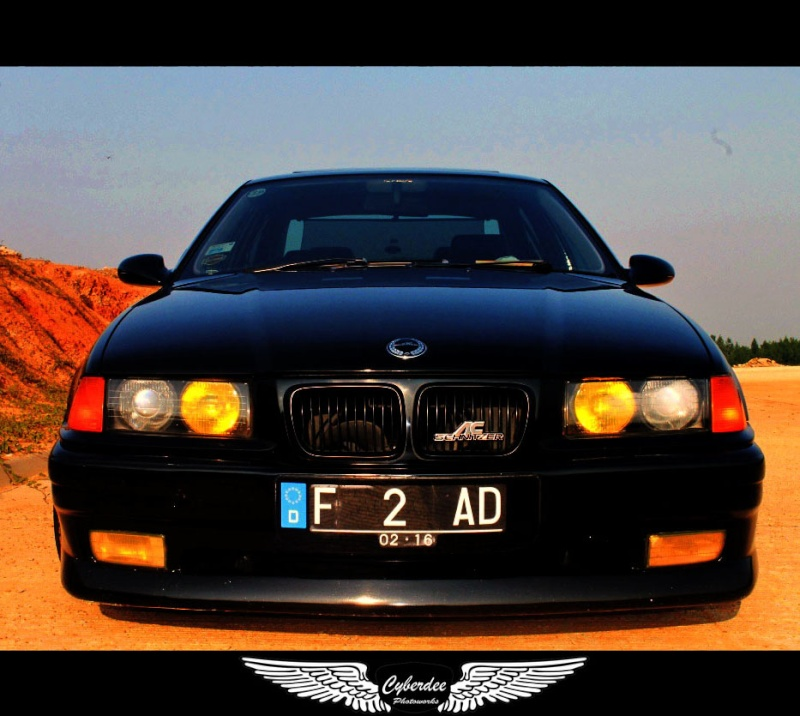 Black E36 With AC Schnitzer