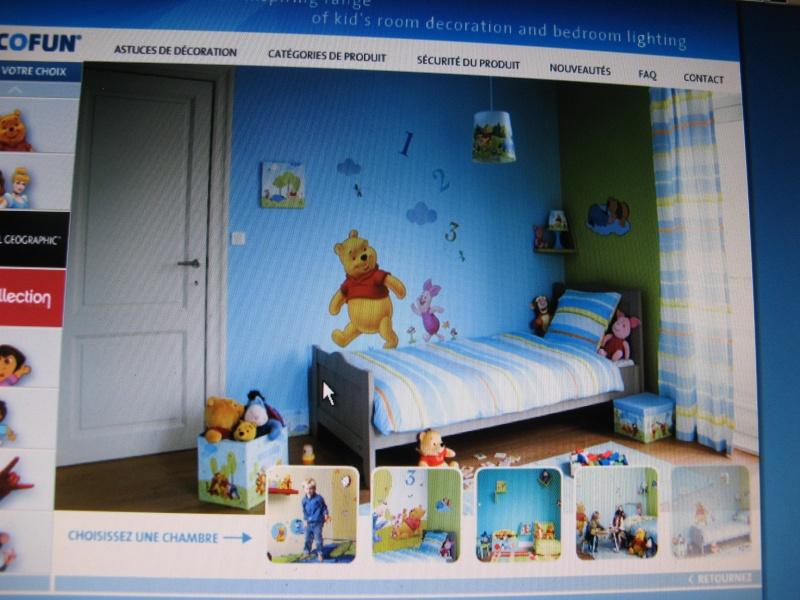 Plaque déco chambre Winnie l'ourson et Porcinet