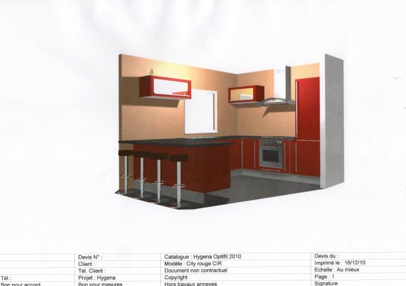 Couleur des murs for Plan cuisine 3d kozikaza