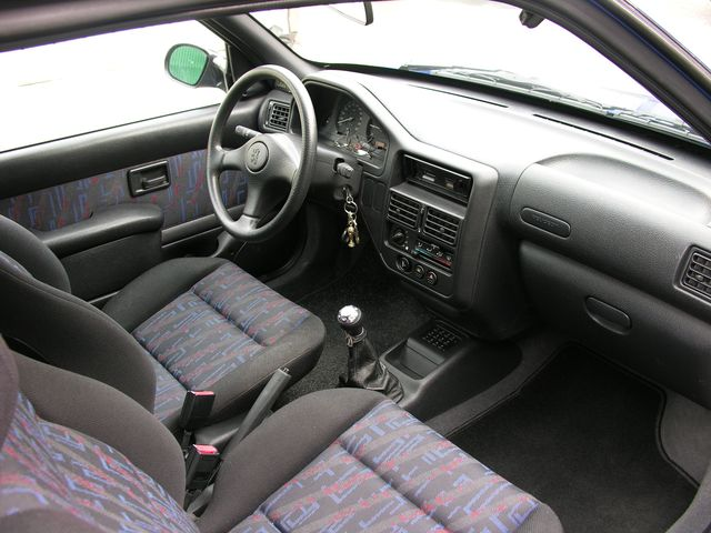 106 xs for Interieur 106 sport