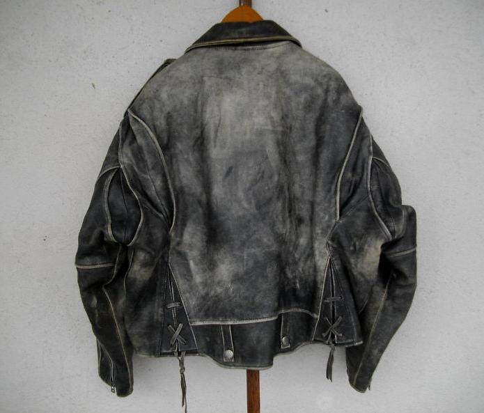 Ou teindre une veste en cuir