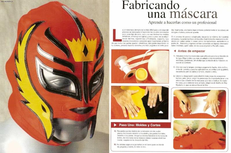 como hacer tu propia mascara de lucha libre