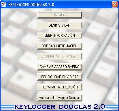 Keylogger Douglas 2.0 (Monitorear tu teclado)