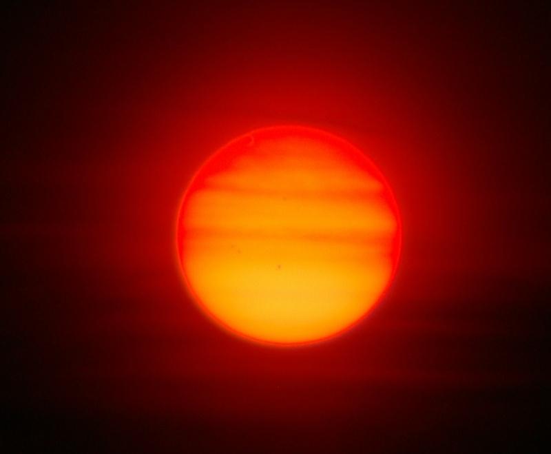 Mon transit de v nus - Soleil rouge aubagne ...