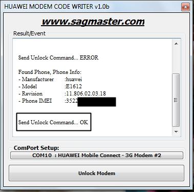 Liberar Huawei E1752 Movistar España