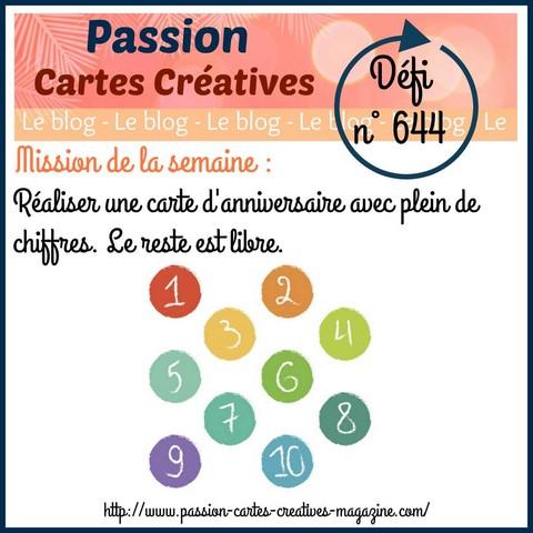 Passion cartes Créatives#644 !