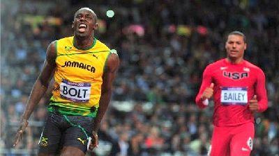 Usain Bolt Raja Pecut 100 meter Olimpik 2012