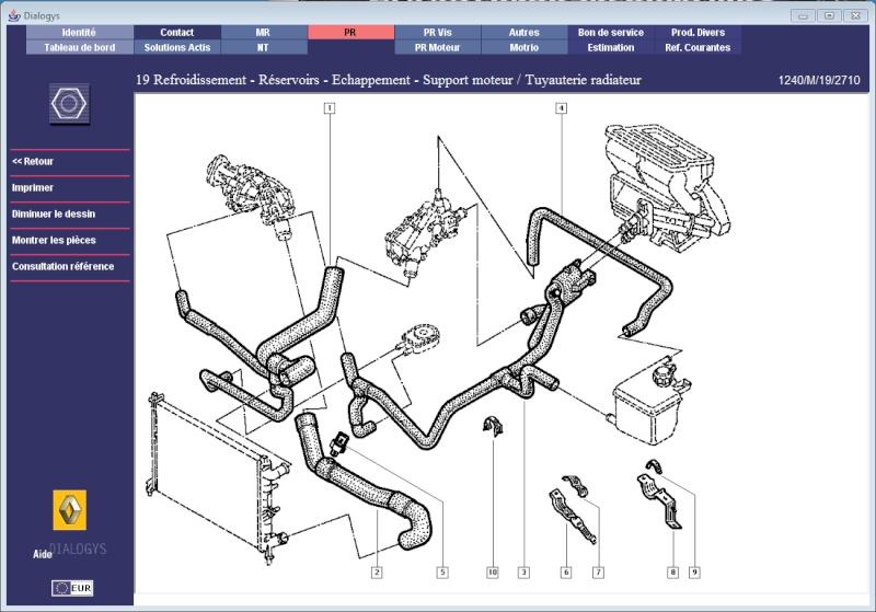 durite laguna 1 2.2 dt rxt : mécanique (hors moteur) - forum