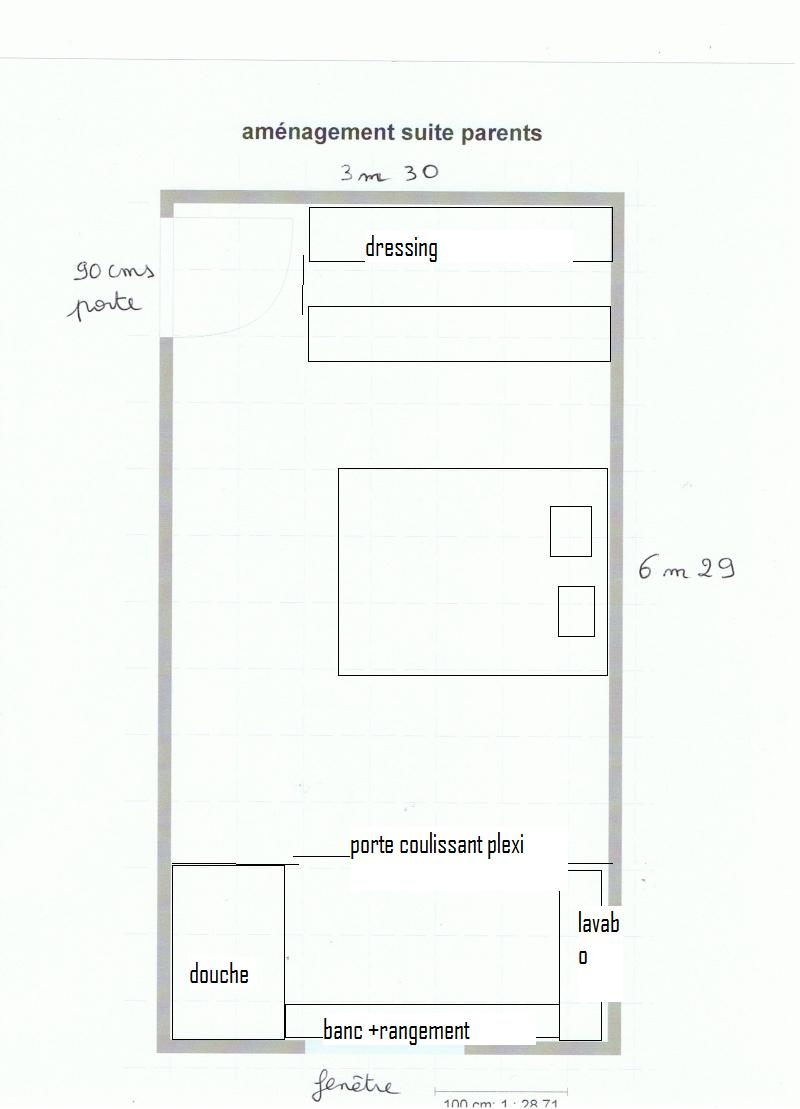Am nagement suite parentale page 2 for Amenagement garage en suite parentale