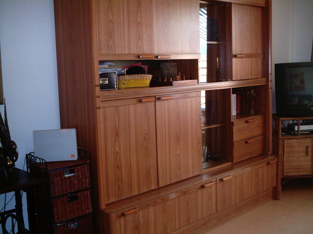 Salon salle manger relooker for Moderniser un meuble ancien