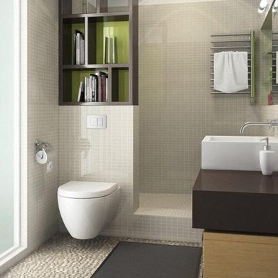 Carreaux de ciment et mosa ques - Petite poubelle salle de bain ...