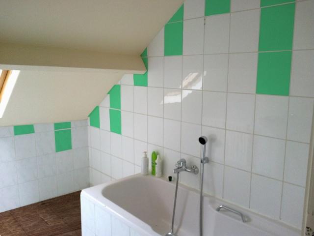 Re: Relooking salle de bain mansardée
