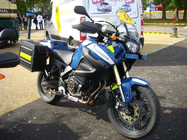 Xtz 1200 gendarmerie nationale for Bulle haute 900 tdm