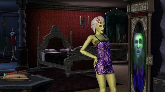 Un zombie et le miroir