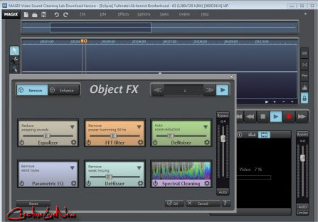 MAGIX Video Sound Cleaning Lab v1.0