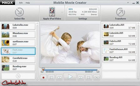 MAGIX Mobile Movie Creator 4.0.0.18