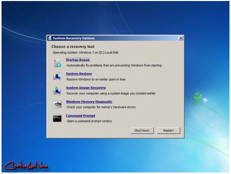 Windows 7 recover disk
