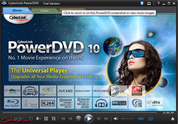 CyberLink PowerDVD Mark II Ultra 3D 10.0.1803.51