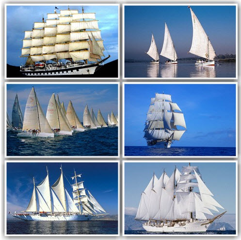 130 Sailing vessels And Colourful Wide wallpapers