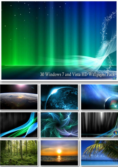 30 Windows 7 and Vista HD Wallpapers