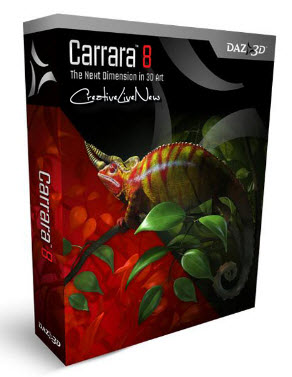Carrara 8 Pro 8.0.0.231 x86 and x64
