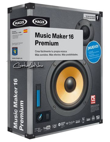 MAGIX Music Maker Premium 16.0.2.4