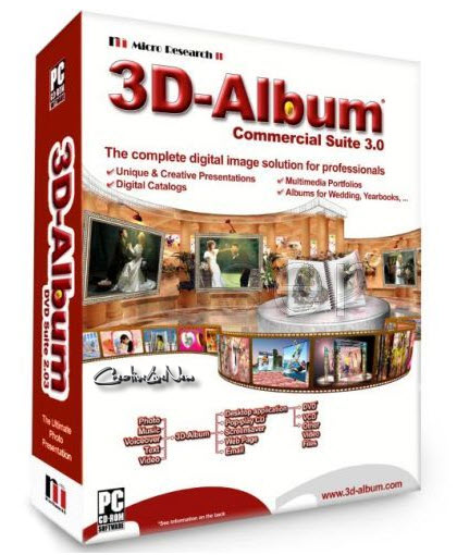 3D Album Commercial Suite 3.30 (Portable)