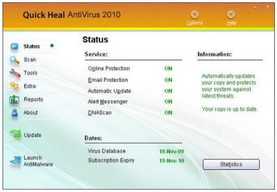 Quick Heal Antivirus 2010
