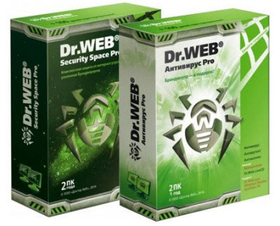 Dr.Web Antivirus and Security Space Pro 4.44.1, 5.00.2, 6.00.0 Multilingual (07.08.2010)