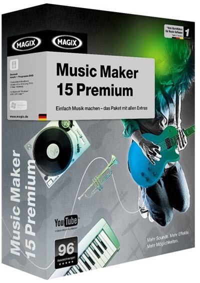 MAGIX Music Maker Premium 16.0 x86-x64 Silent install