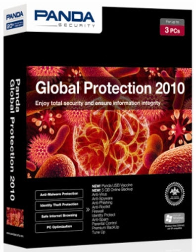 Panda Global Protection 2010 Build 3.01.01 + Serials