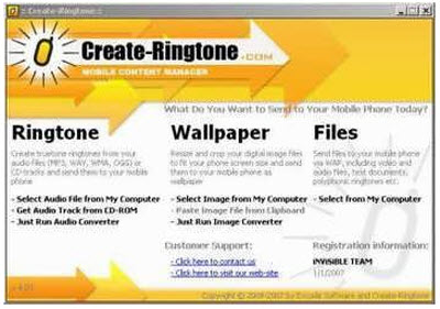 Create Ringtone 5.0.1.0 portable