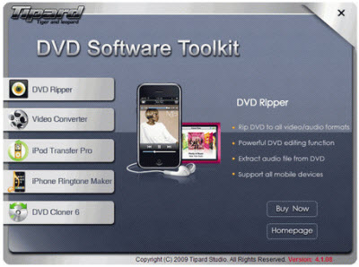Tipard DVD Software Toolkit 4.1.16