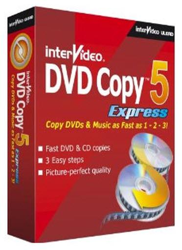 Portable Intervideo DVD Copy 5