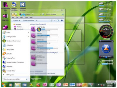 90 Themes for Windows 7