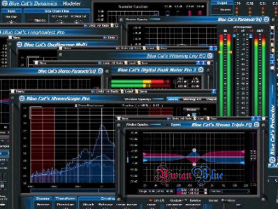 Blue Cat Audio Blue Cats All Plug-ins Pack DX VST RTAS 06.2010 x86