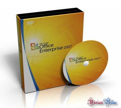 Microsoft Office Enterprise 2007 DVD VOL