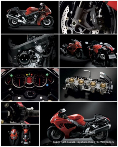 35 Super Fast Suzuki Hayabusa Bikes HD Wallpapers