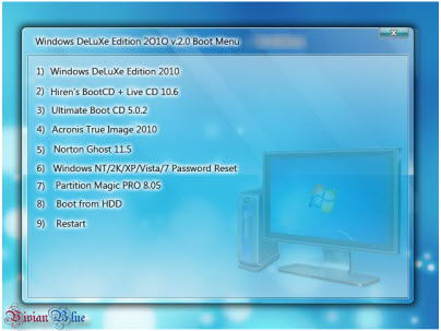 Windows DeLuXe Edition 2010 2.0 Multi Bootable iso