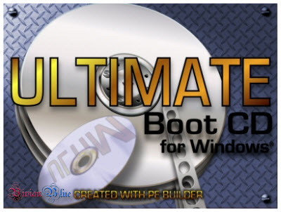 Ultimate Boot CD for Windows Version 3.60