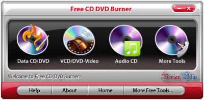 Portable Free CD DVD Burner 3.7.2.1